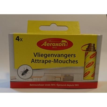 Anti mouches 1 paquet de 4 rubans adhésifs Aeroxon