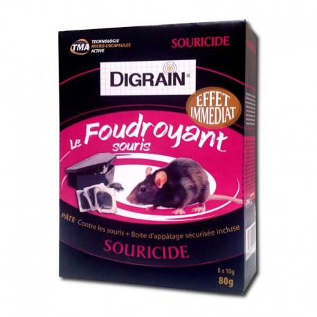 Digrain le Foudroyant : appât + poste d'appatâge anti souris