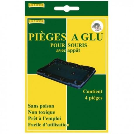 Anti souris pièges à glu (4 unités)