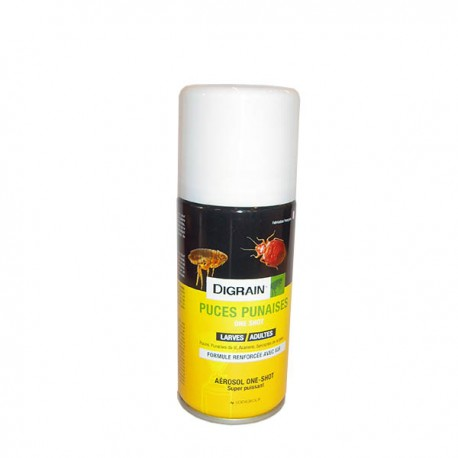 Digrain Puces punaises aérosol 100 mL one shot