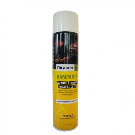 Digrain rampants  600 mL anti puces et punaises de lit aérosol