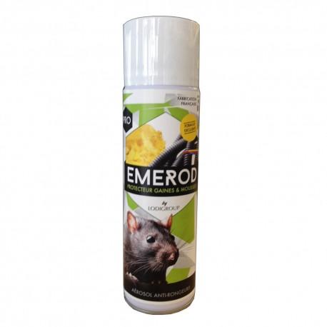 EMEROD Protecteur anti rats souris Gaines & Mousses