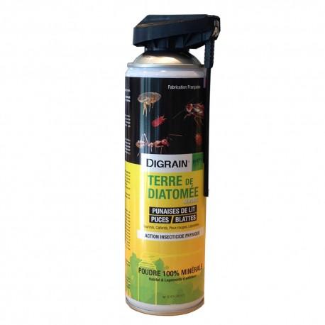 Terre de Diatomée aérosol anti blattes 500ml
